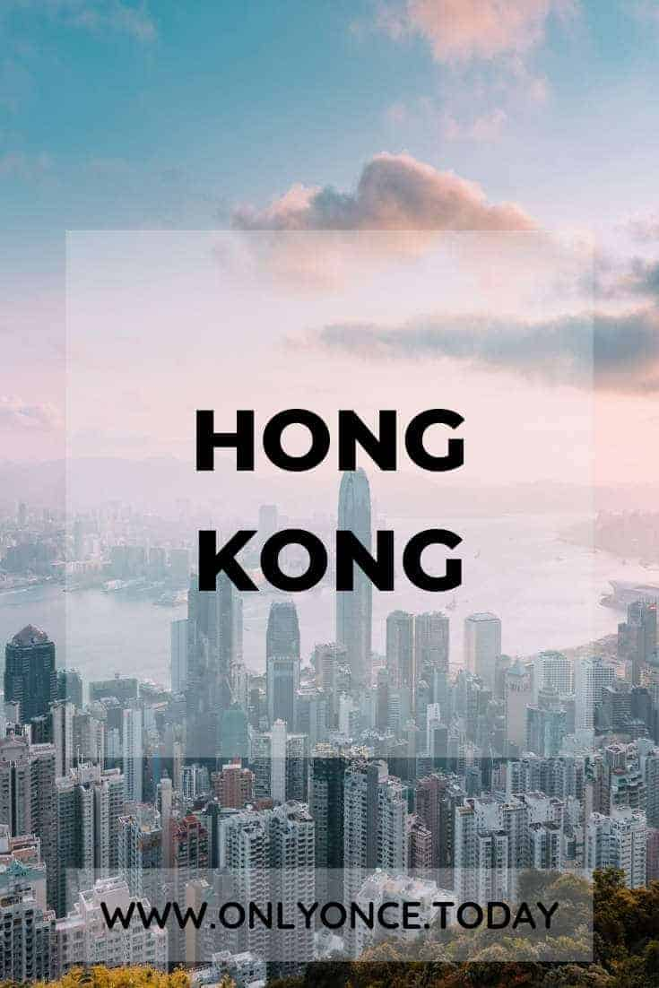 Hong Kong Itinerary - The fragrant Harbour