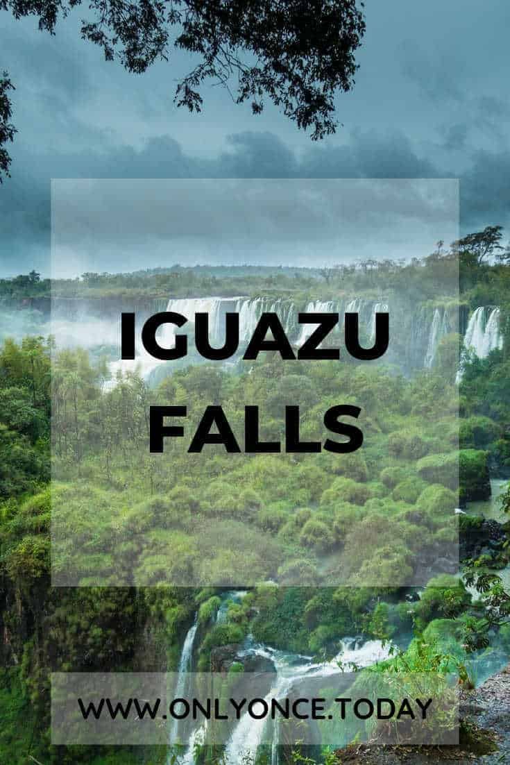 Visiting Iguazu Falls - Iguazu Falls Brazil side - Iguassu Falls Argentina