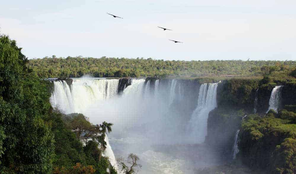 Visiting Iguazu Falls Brazilian Side