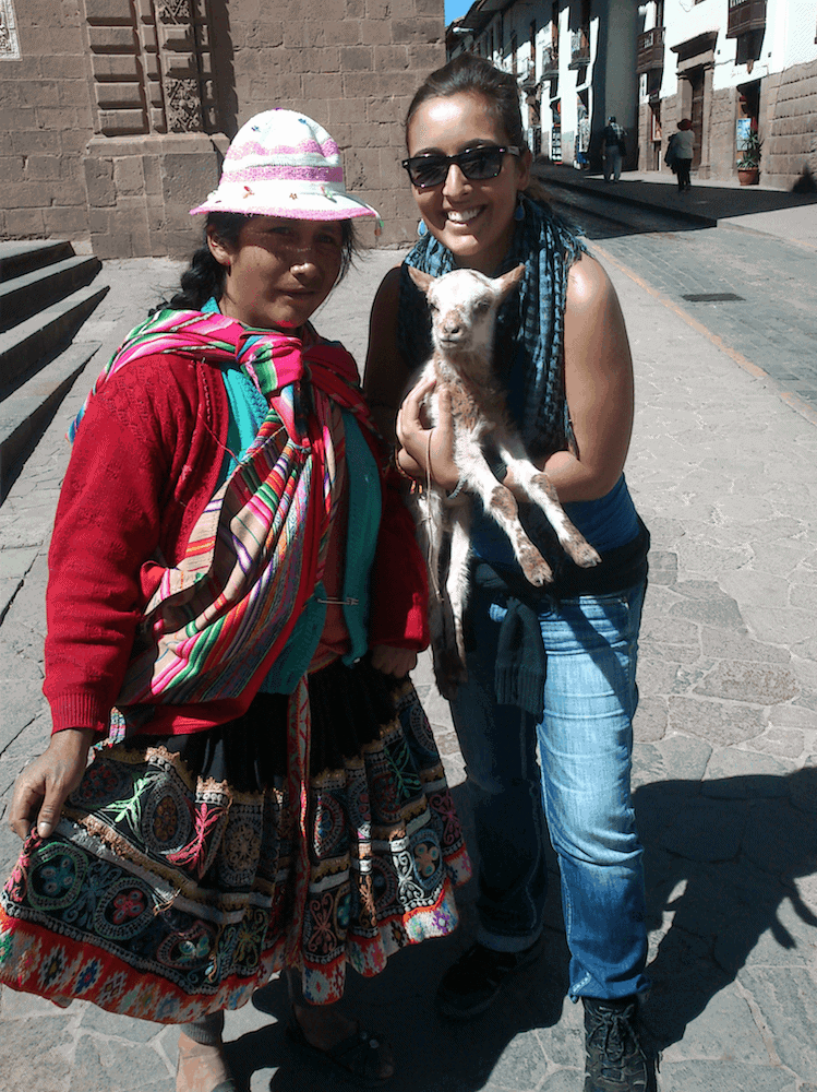 Cute Little Friend In Cusco