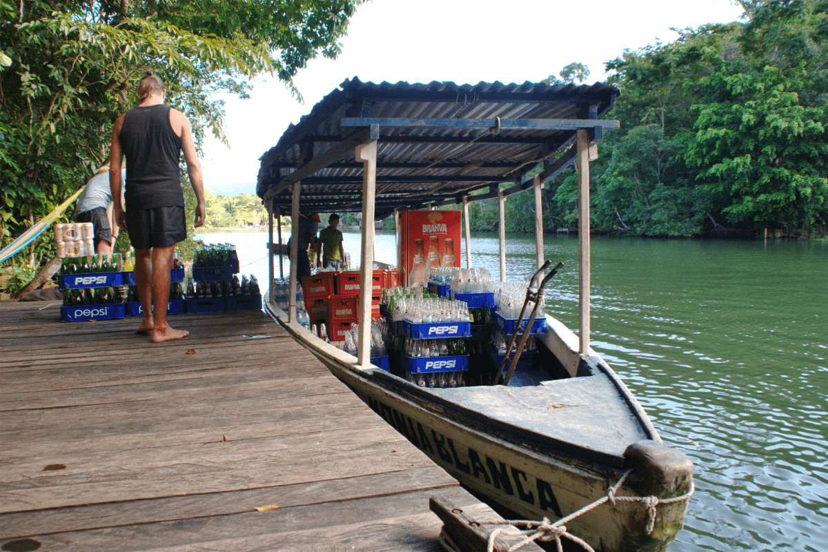 Backpacking Rio Dulce Guatemala - Only Once Today