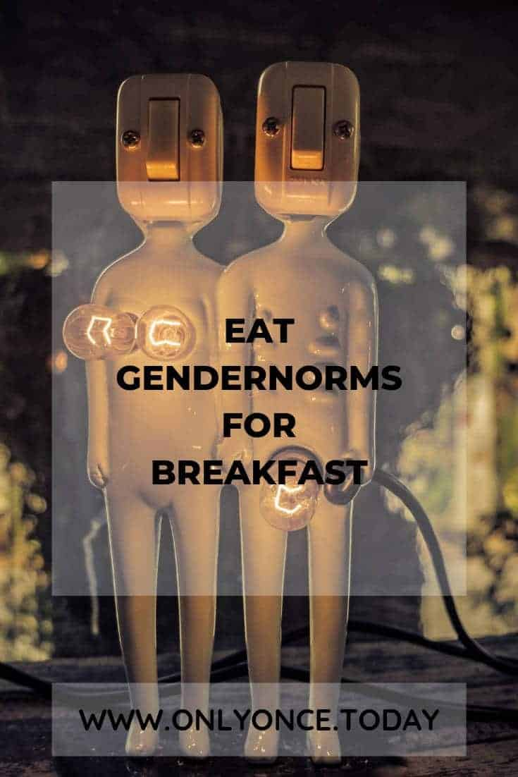 Eat Gendernorms for Breakfast - Gender non-conform