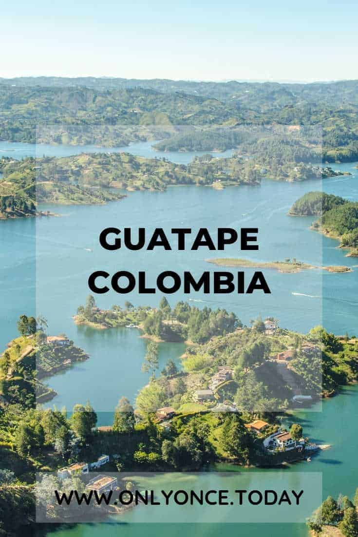 Guatape Colombia - Day trip from Medellin