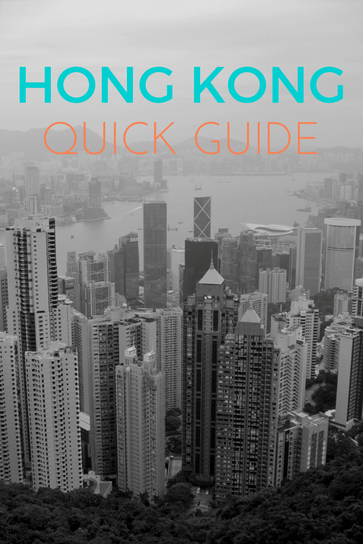 Hong Kong Itinerary - Only Once Today