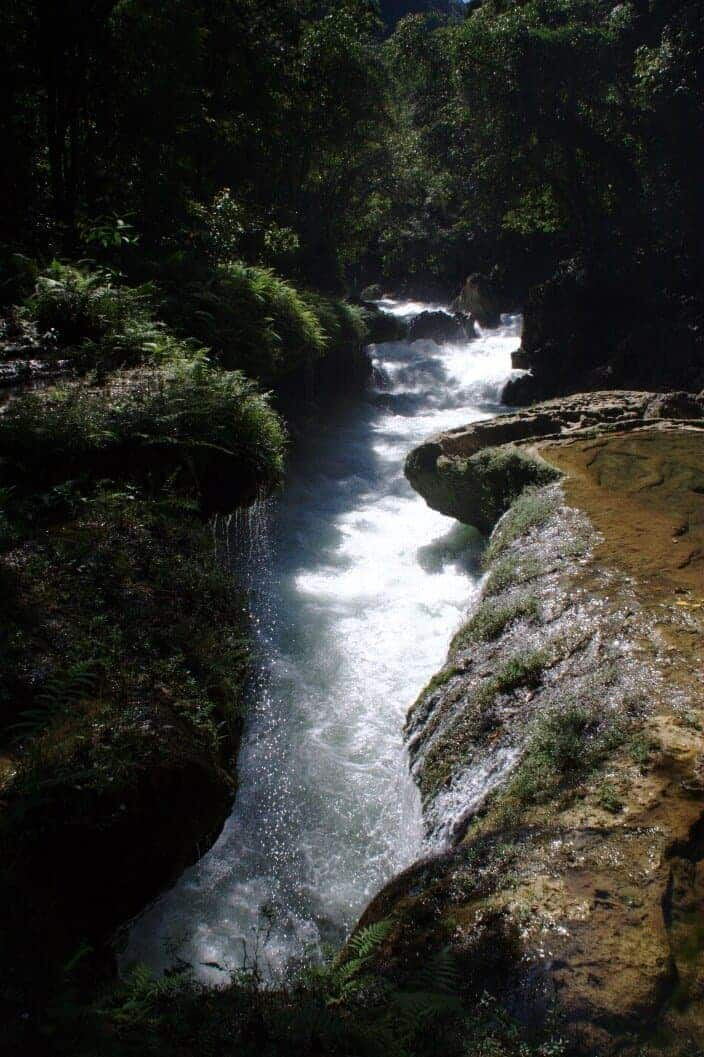 Rio Cahabon - Semuc Champey Guatemala - Only Once Today