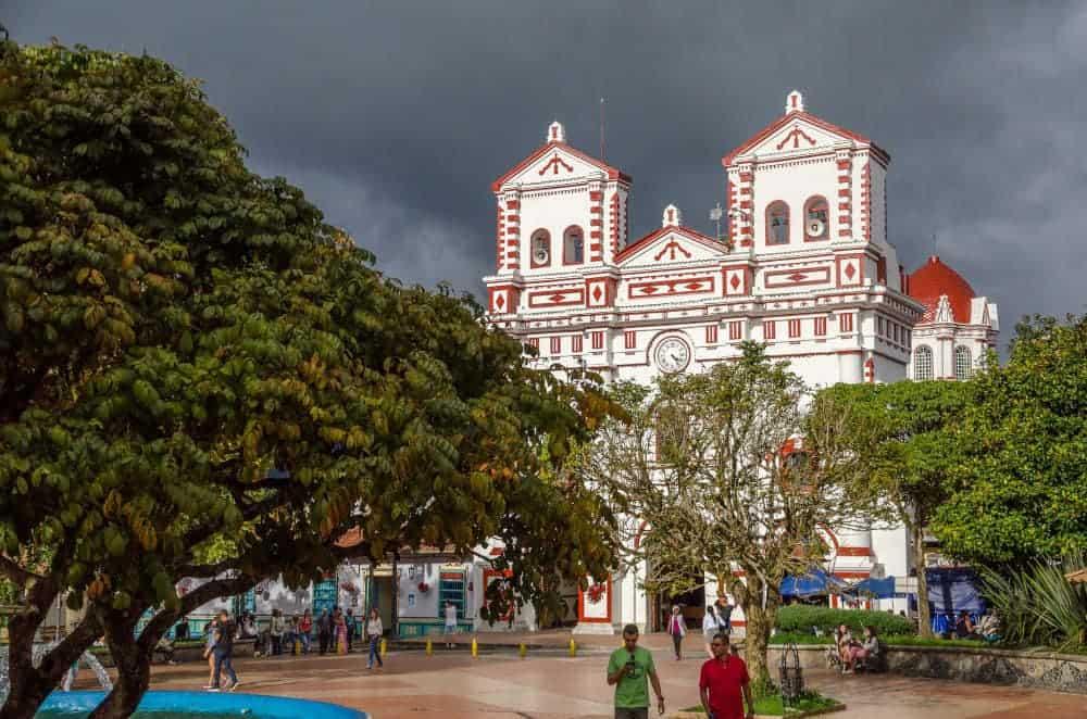 Guatape Zocalo Church - Things to do in Guatape