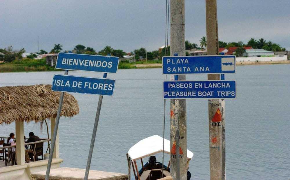 Flores Peninsula Guatemala