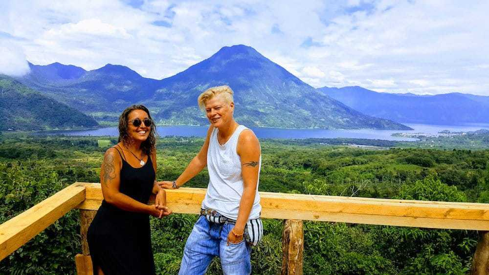 Santiago Viewpoint - Lake Atitlan - Guatemala - Only Once Today