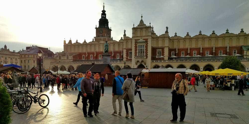Krakow city square