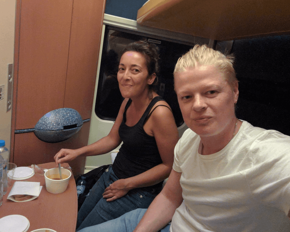Train Travel in Europe - Goulash Soup in Poland