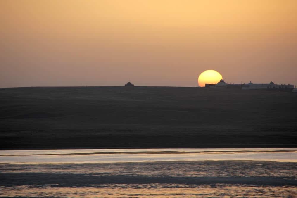 Inner Mongolia China Sunrise