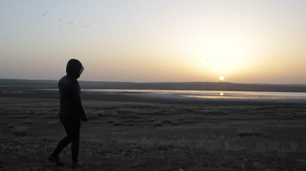 Sunrise at Inner Mongolia Grassland
