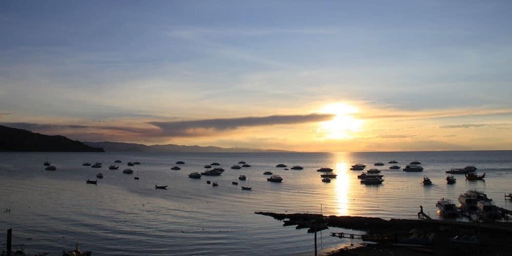 Sunset - Copacabana - Bolivia - Lago Titicaca