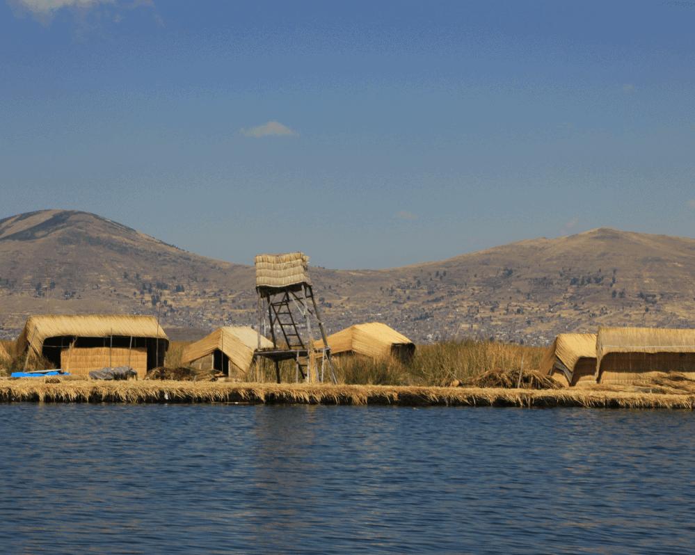 Uros Houses - Lago Titicaca - Peru - Bolivia