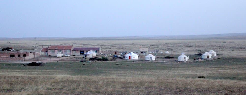 Mongolian Yurt Camp in Xilumeren Grassland
