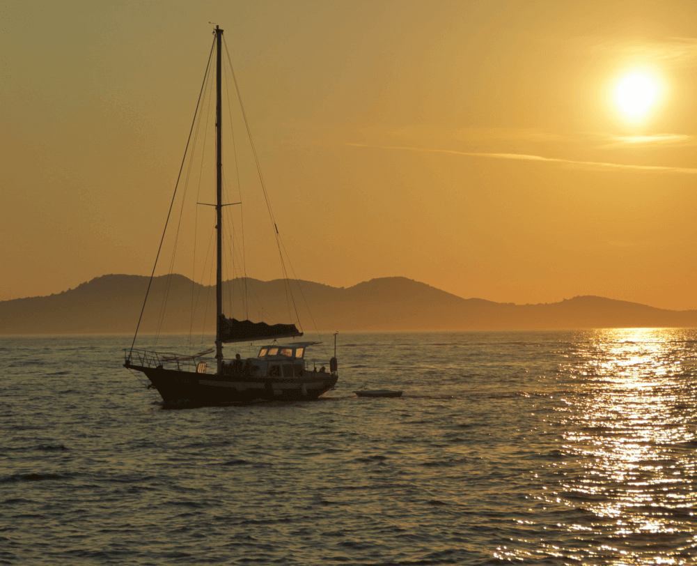 The most beautiful sunset in the world - Zadar Croatia - Only Once Today