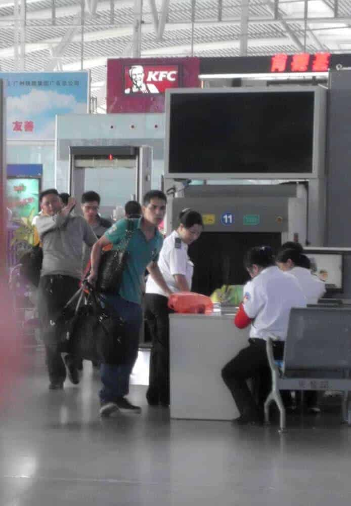 Security Railway Station China - China Train Guide - Only Once Today