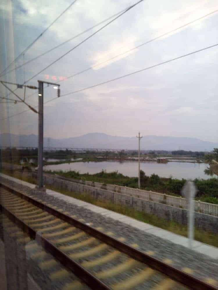 View From Train - China Train Guide - Only Once Today