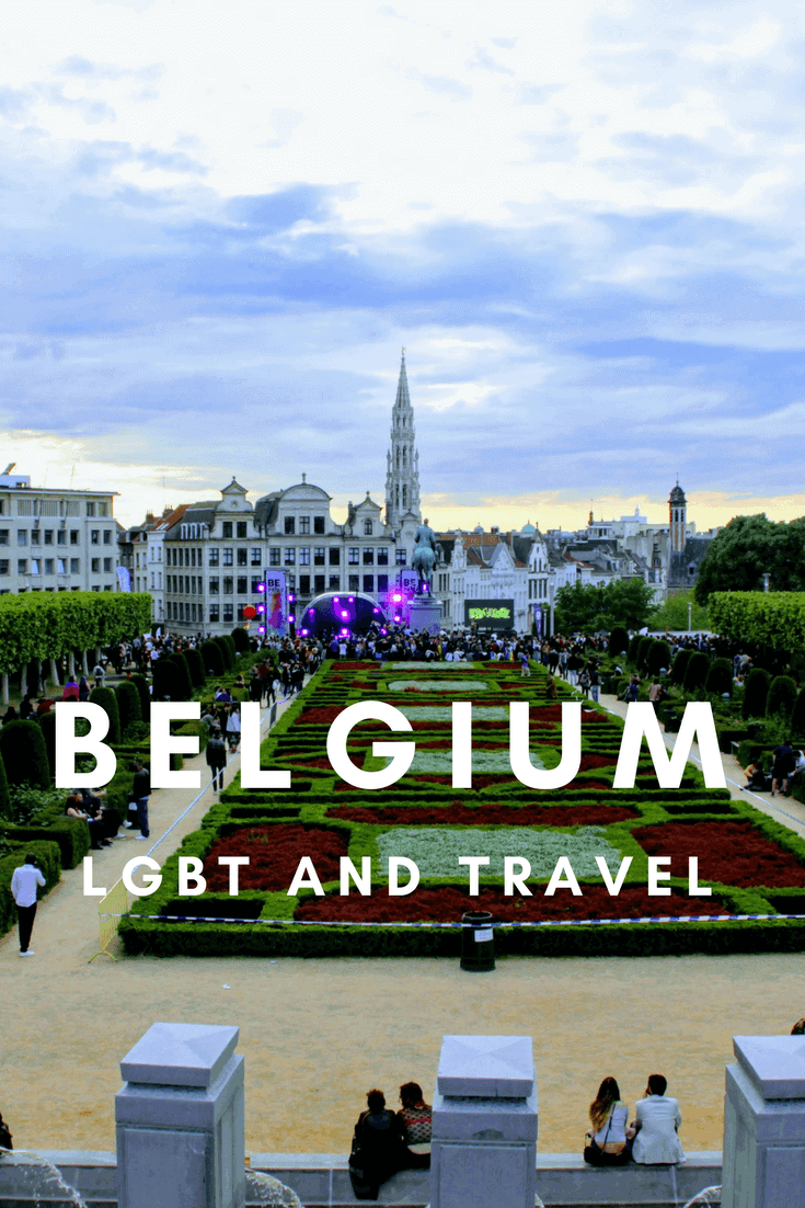 LGBT rights and travel in Belgium