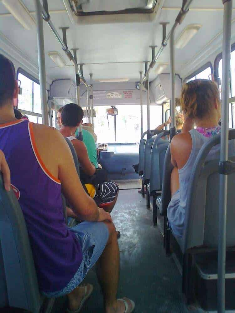 Public Transportation in Mexico - Only Once Today