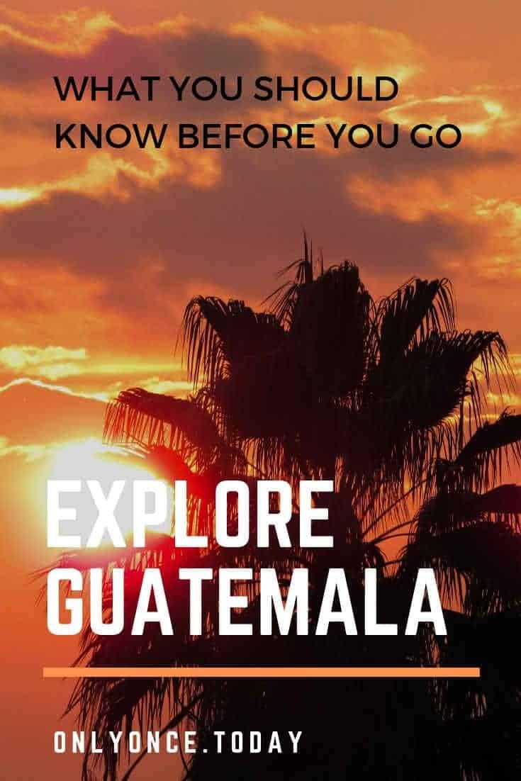 Interesting facts Guatemala