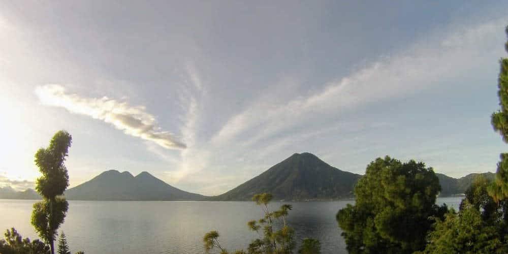 Volcanoes at Lake Atitlan
