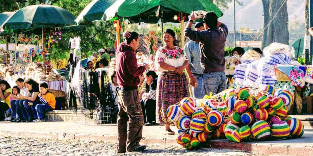 Local people in Antigua - Facts about Guatemala