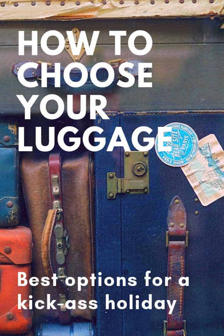 How to choose your luggage - Check in or carry on?