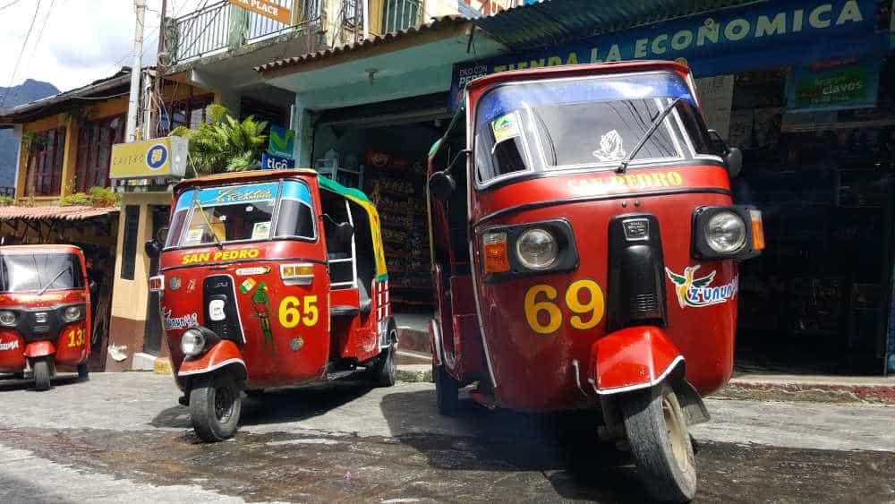 tuc-tucs in Guatemala