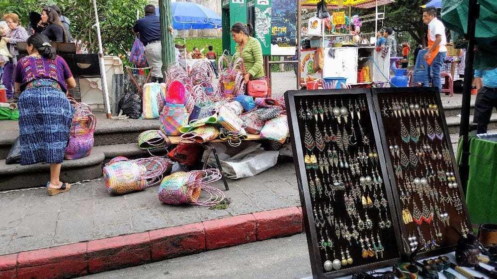 Market Quetzaltenango Guatemala