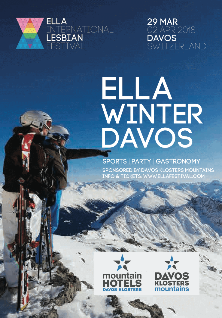 Lesbian Festivals in Europe - Ella Winter Davos 2018 - Only Once Today
