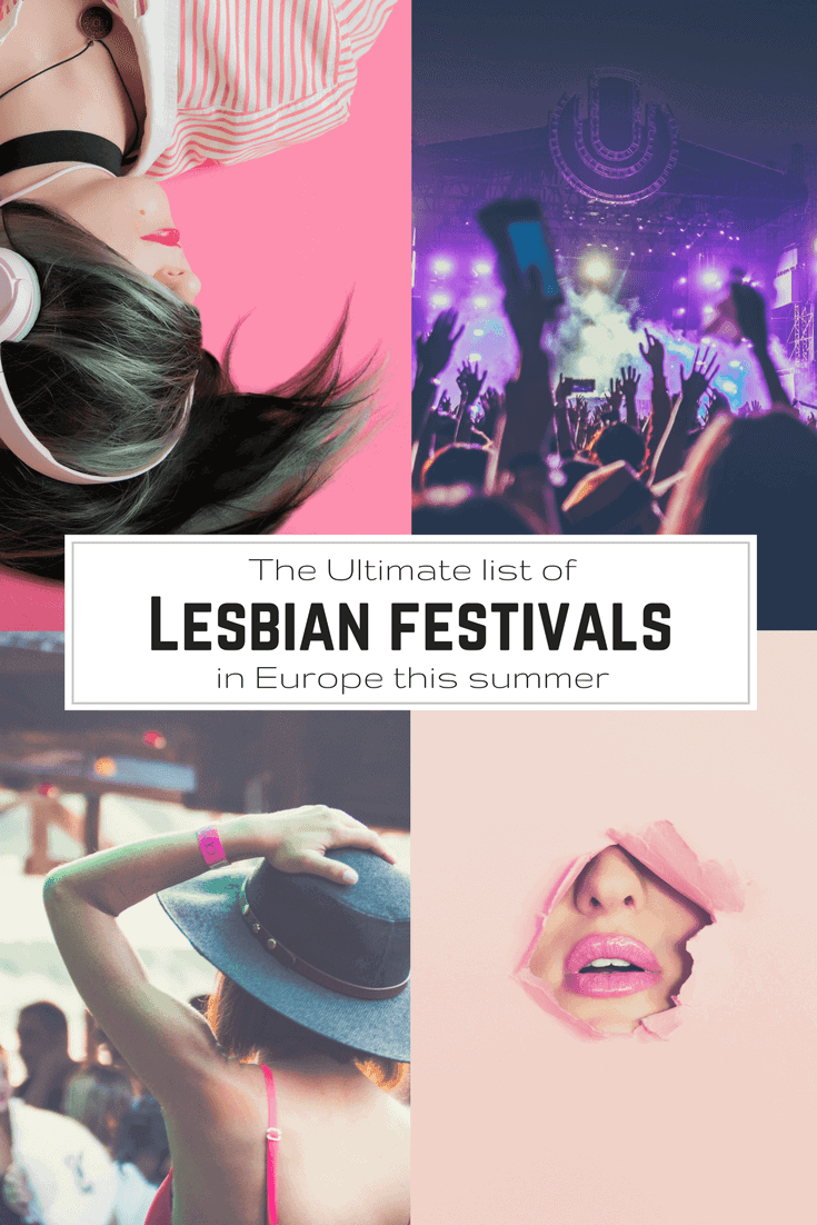 Coolest Lesbian Festivals in Europe - Only Once Today
