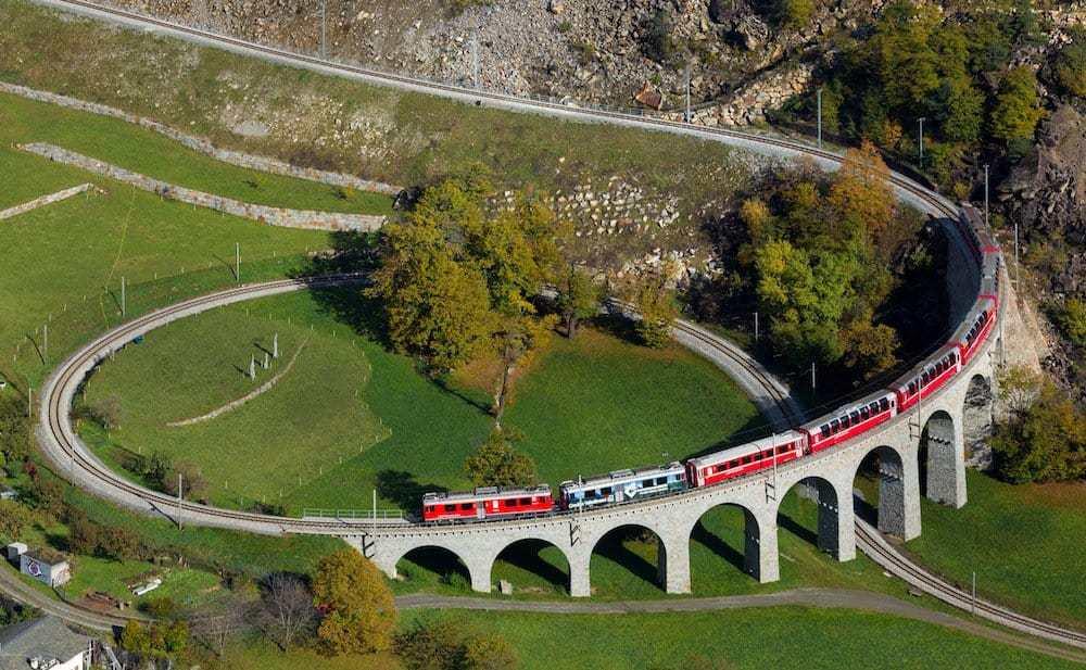 Bernina Express - 8 Most Scenic Train Rides