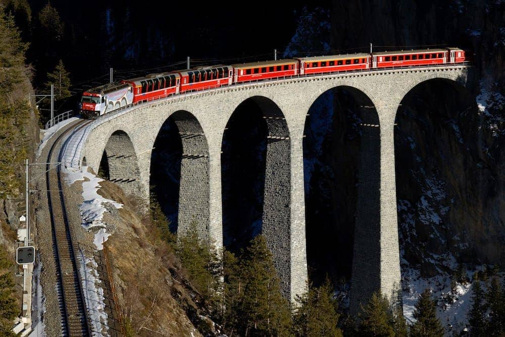Bernina Express - 8 Most Scenic Train Rides in Europe