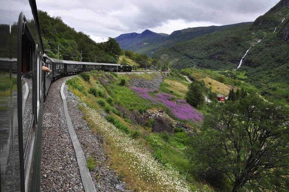 Flam Railway - 8 Most Scenic Train Rides in Europe
