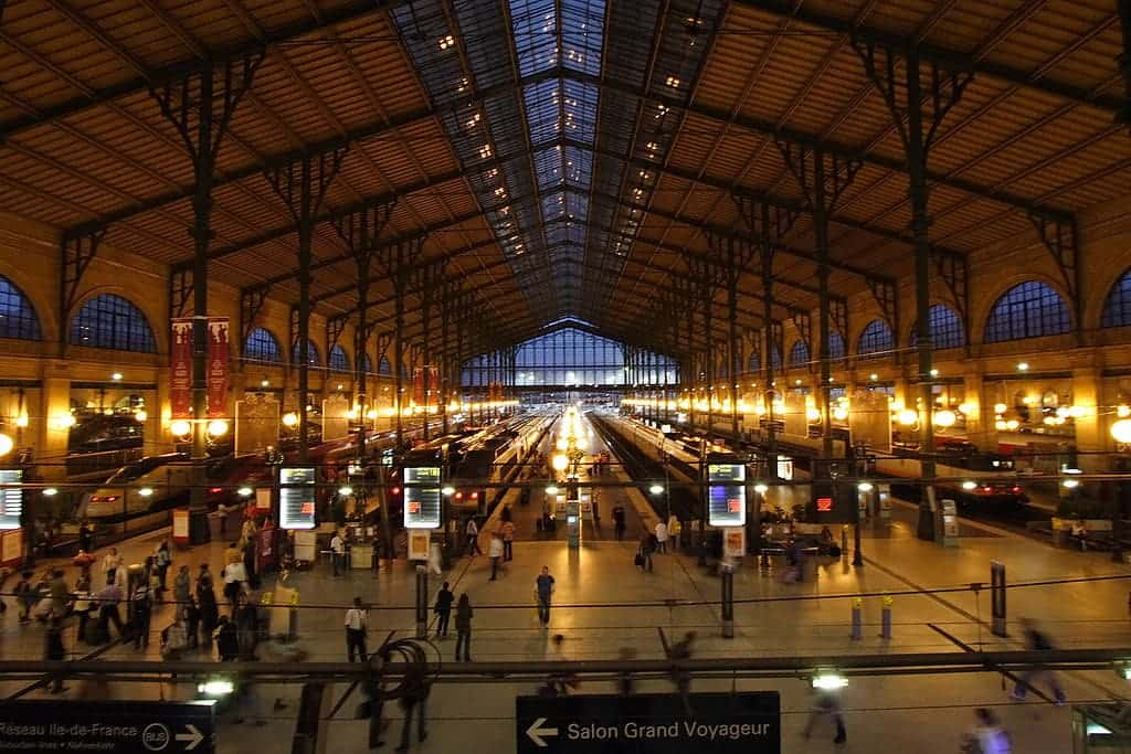 Gare Du Nord - Interesting train trips Europe - Did you know about these? - Photo Courtesy: Wikimedia Commons