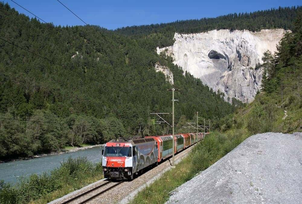 Glacier Express - 8 Most Scenic Train Rides in Europe - Great Rail Journeys