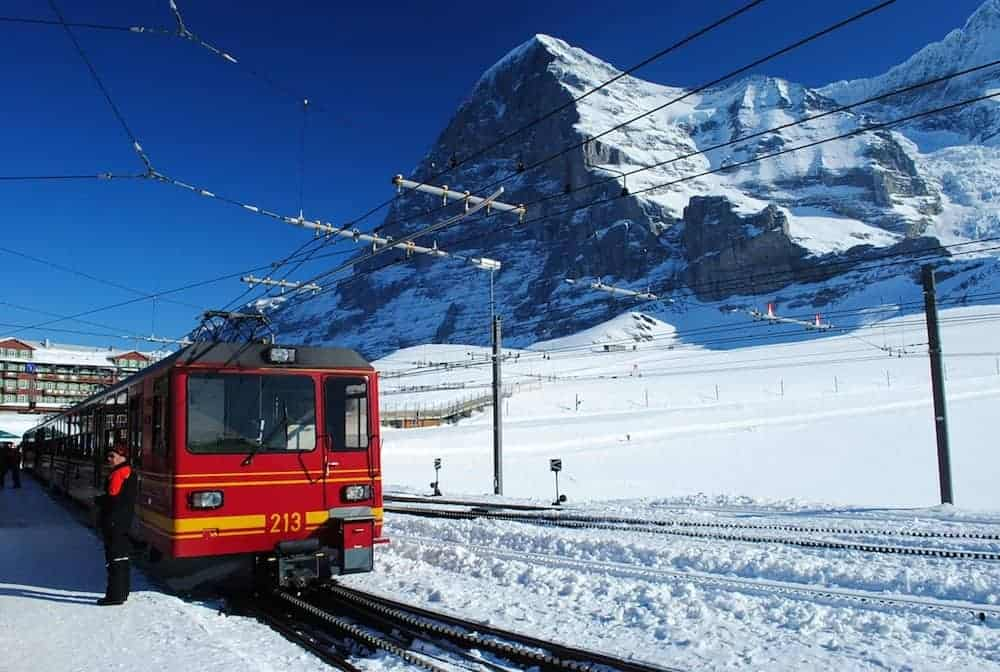 Jungfrau Railway - Interesting train trips Europe - Did you know about these? - Photo Courtesy: Wikimedia Commons
