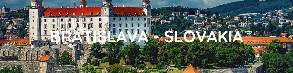 BRATISLAVA - Central and Eastern Europe Interrail Route - 2 Weeks in Europe