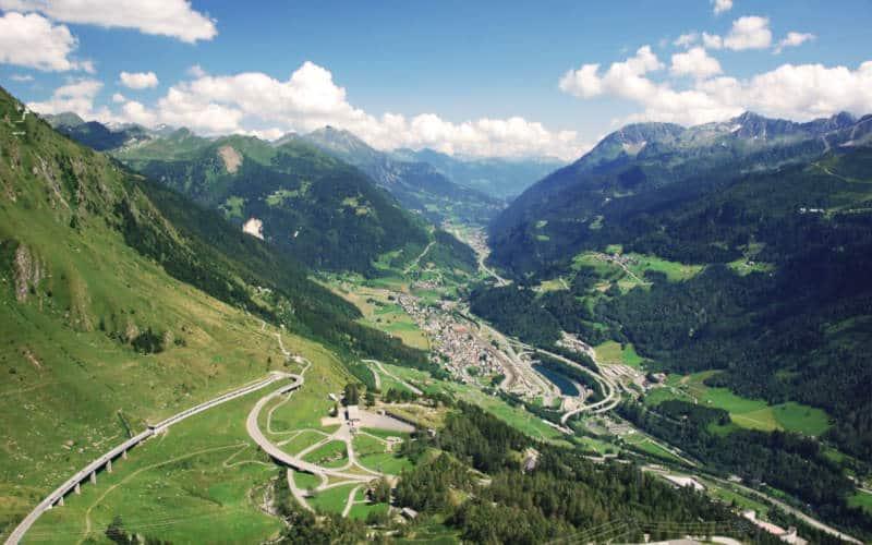 Gotthard mountain pass