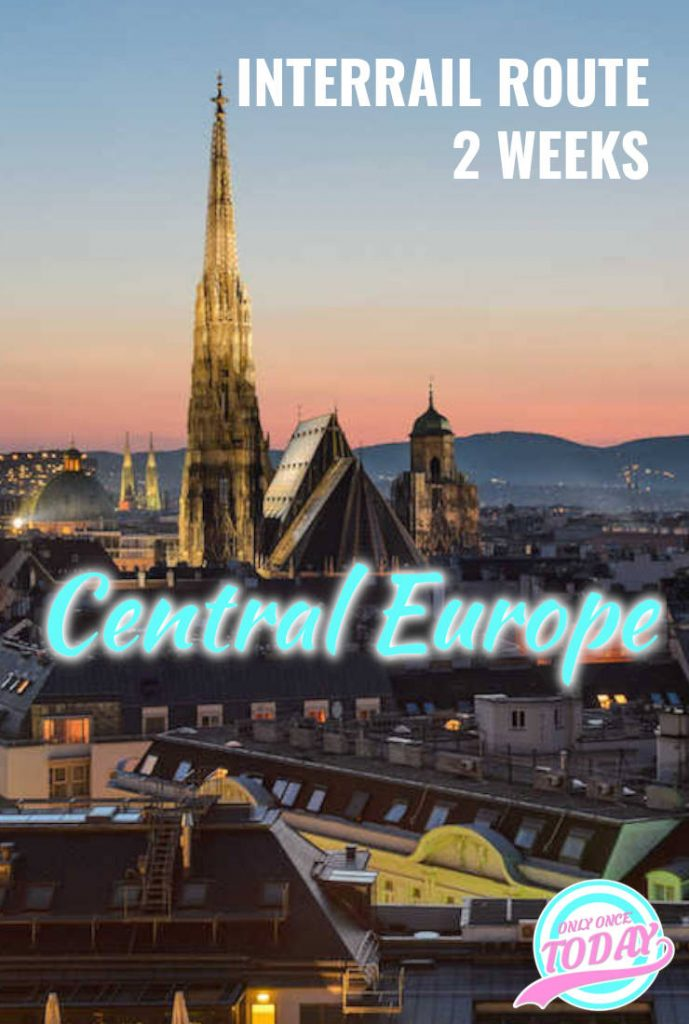 Central and Eastern Europe Interrail Route - 2 Weeks in Europe