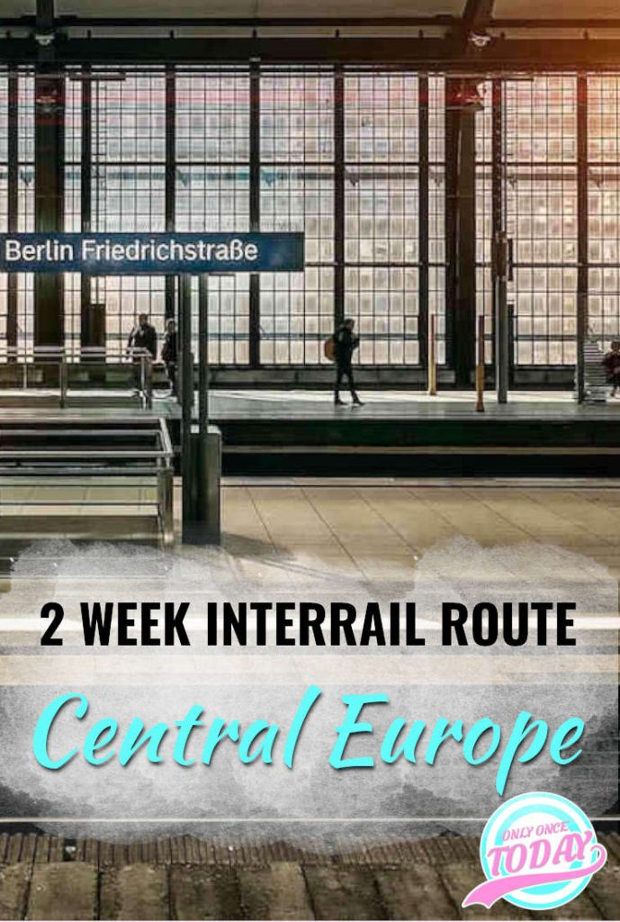 2 Week Interrail Route for Central and Eastern Europe