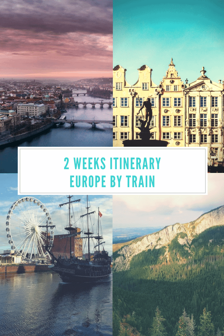 Interrail Central Europe 2-week itinerary - Only Once Today