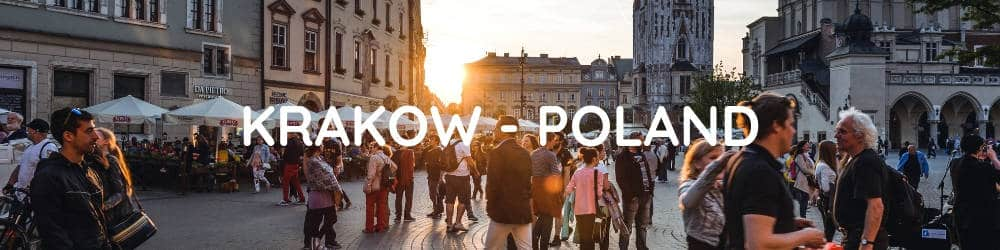 KRAKOW - Central and Eastern Europe Interrail Route - 2 Weeks in Europe