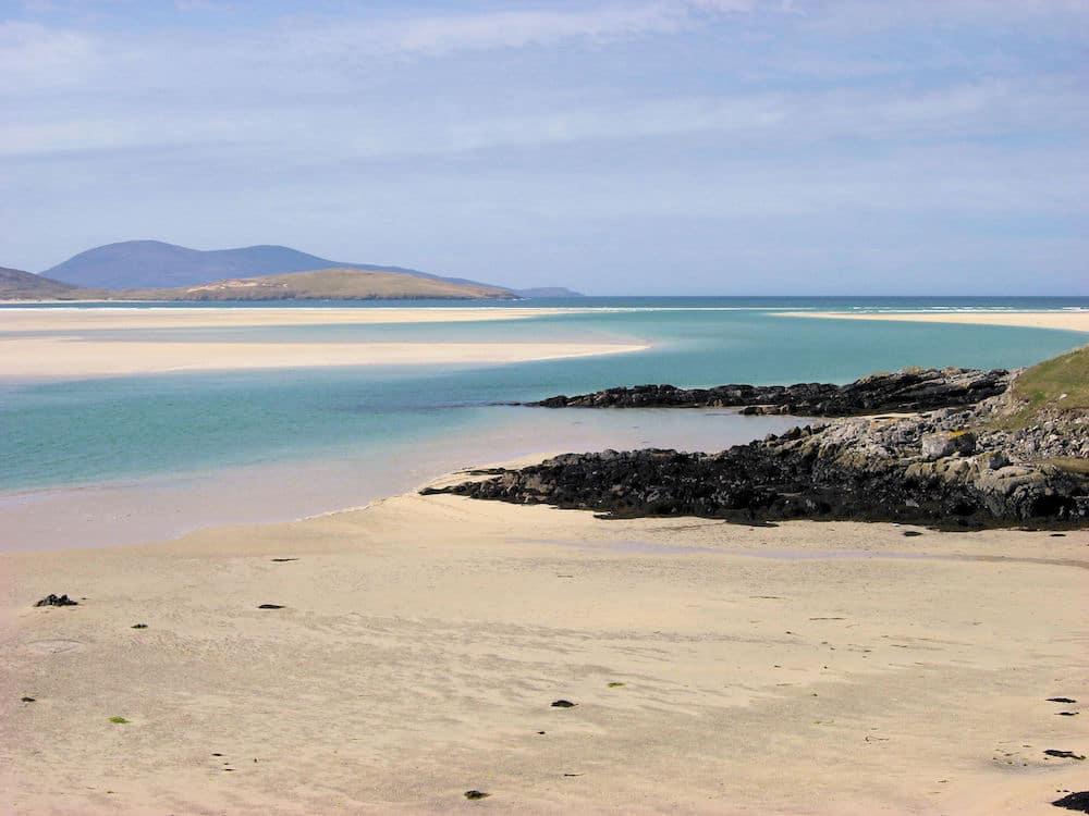 Luskentyre Beach Scotland - 10 remote beaches in Europe