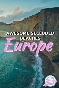 10 Secluded beaches in Europe