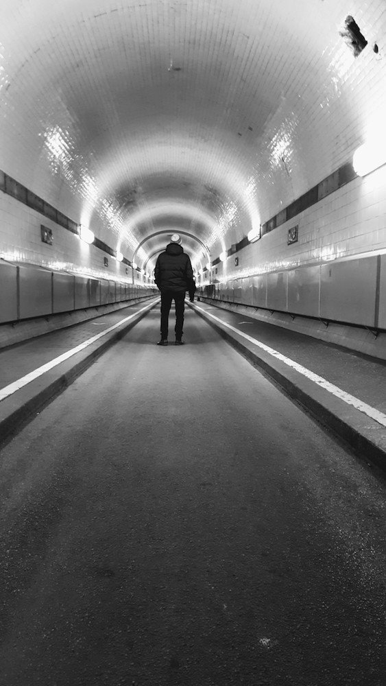 Old ElbeTunnel - 2 days in Hamburg - Germany - Citytrip Europe - Only Once Today