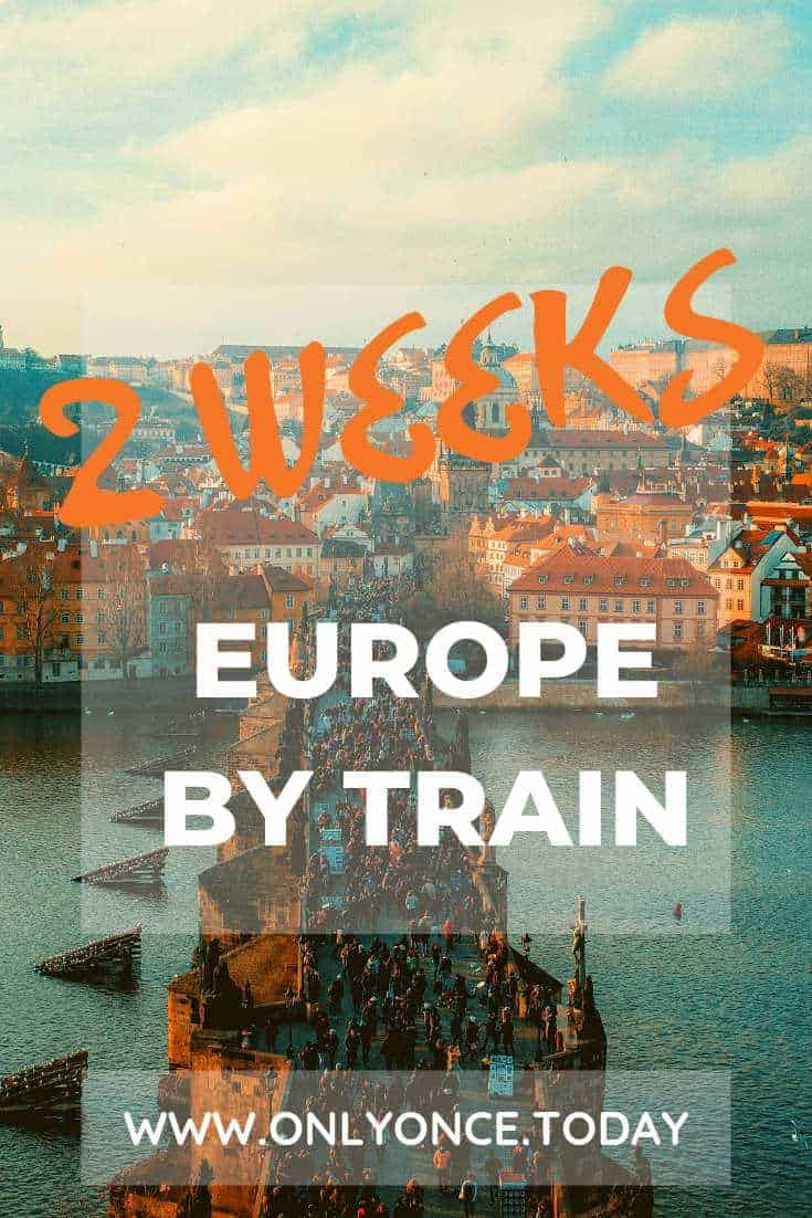Central and Eastern Europe by Train - 2 weeks itinerary - interrail route