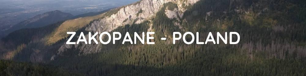 Interrail Itinerary Central and Eastern Europe - Zakopane