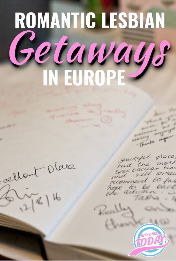 Romantic lesbian getaways in Europe
